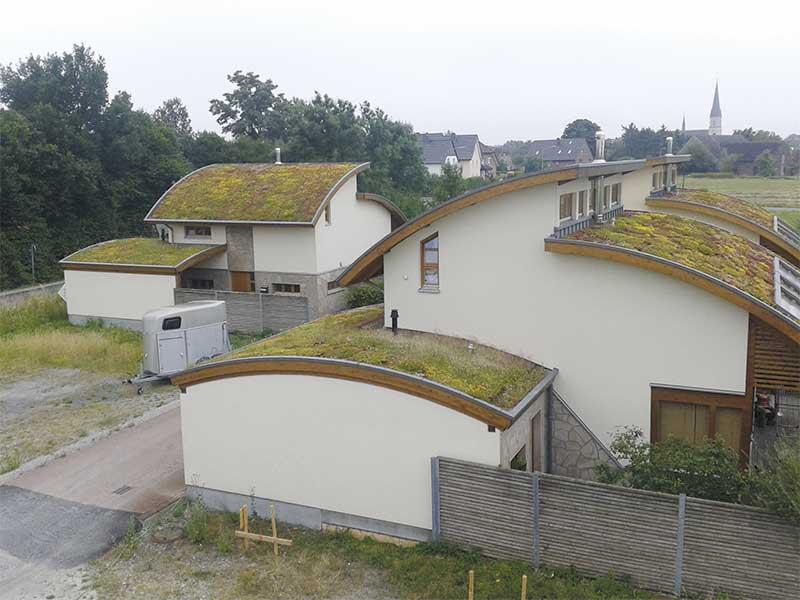 Bogenhäuser, Herzfeld ExtruPol Dachabdichtung, 500 qm