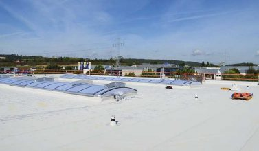 Sartorius AG, Göttingen ExtruPol Dachabdichtung 2.300 qm