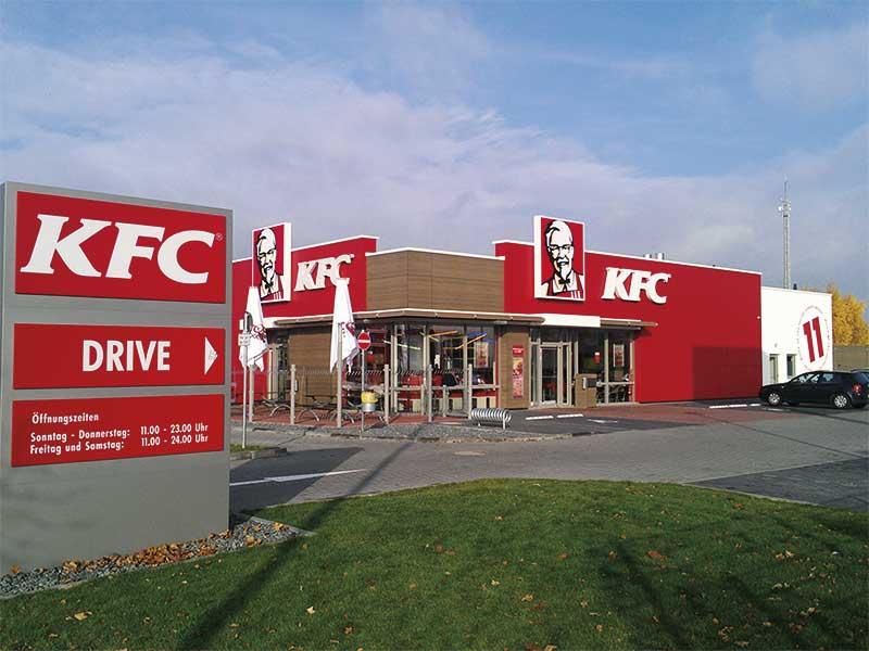 KFC Schnellrestaurant, Göttingen ExtruPol Dachabdichtung, 500qmKFC Schnellrestaurant, Göttingen ExtruPol Dachabdichtung, 500qm