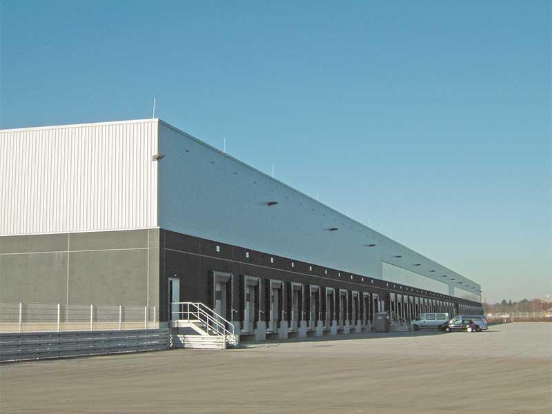 Lidl Logistikzentrum, Leverkusen, Extrubit Dachabdichtung, 33.000 qm