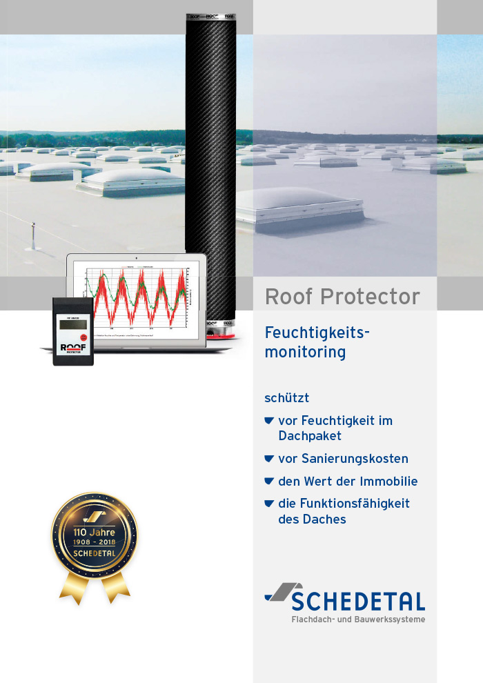 Schedetal Roof Protector Flyer Cover