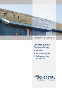 Broschüre Dachbegrünung