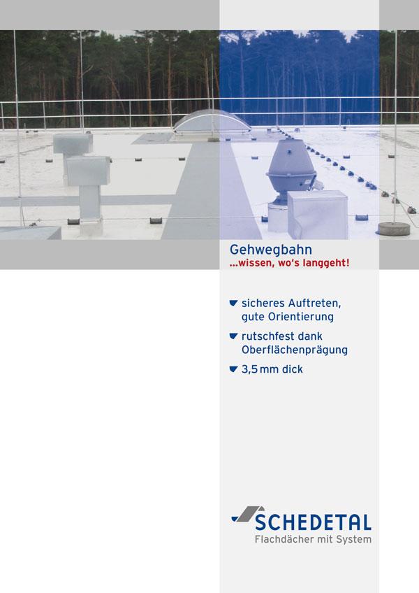 Schedetal Folder Gehwegbahn
