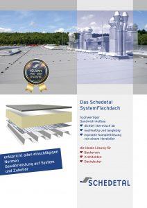 Schedetal System-Flachdach-Broschuere 2020